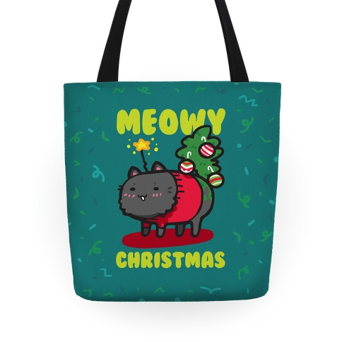 Meowy Christmas Tote Tote