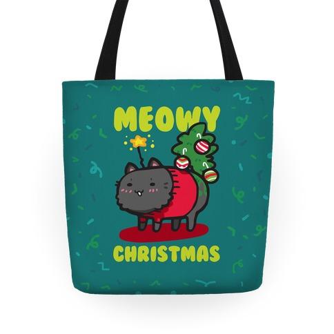 Meowy Christmas Tote Tote