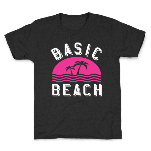 Basic Beach Kids T-Shirt