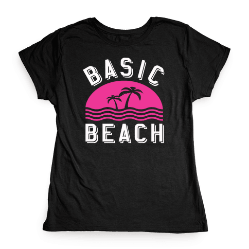 Basic Beach Womens T-Shirt