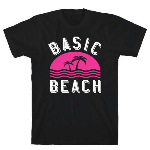 Basic Beach Mens T-Shirt