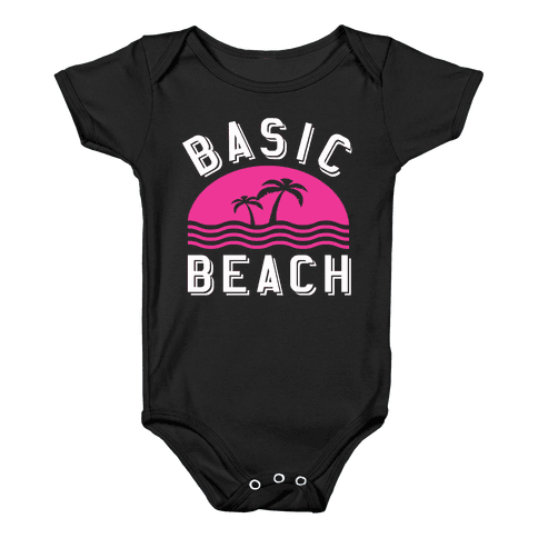 Basic Beach Baby Onesy