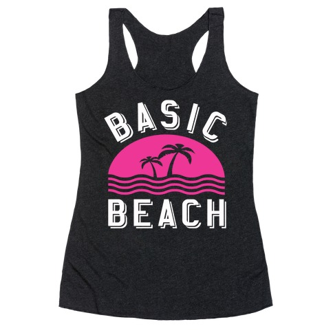 Basic Beach Racerback Tank Top