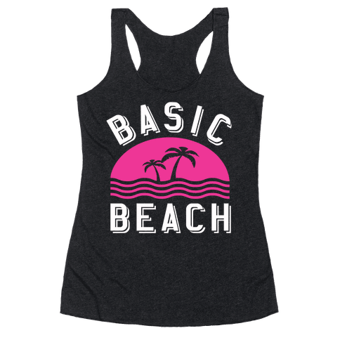 Basic Beach Racerback Tank Top