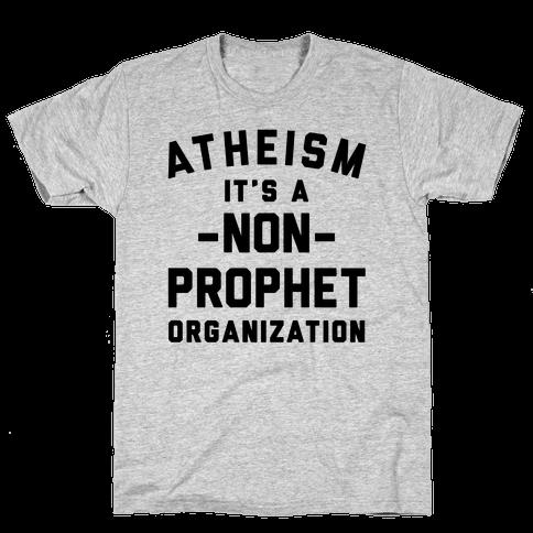 Atheism A Non-Prophet Organization