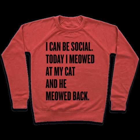 Cat Socialite Pullover