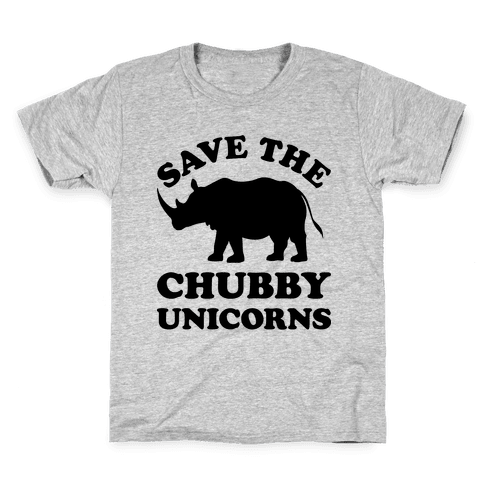 Save The Chubby Unicorns Kids T-Shirt
