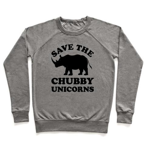 efbec6273 Save The Chubby Unicorns Crewneck Sweatshirt. $34.99. (4.4) 71 Reviews.  This funny rhinoceros shirt ...