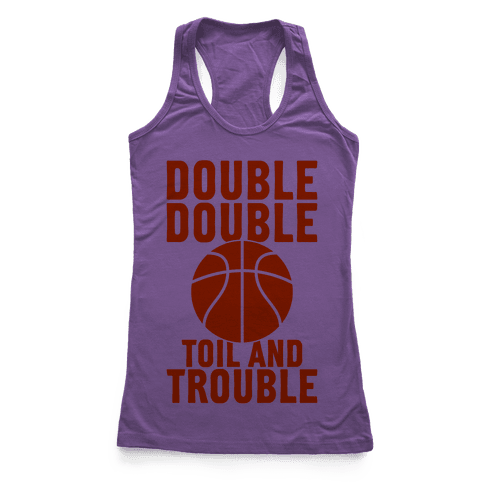 Double Double Racerback Tank Top