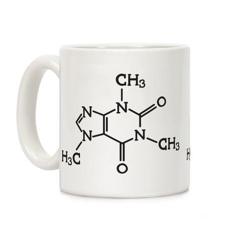 Caffeine Formula Coffee Mug