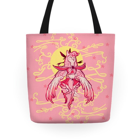 Magical Owl Girl Tote