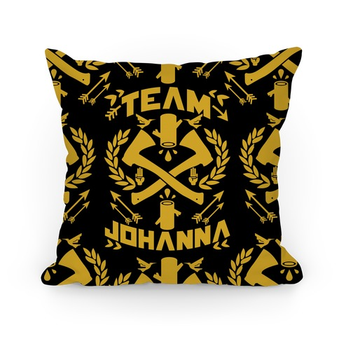 Team Johanna Pillow