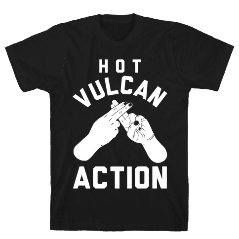 Hot Vulcan Action Mens T-Shirt