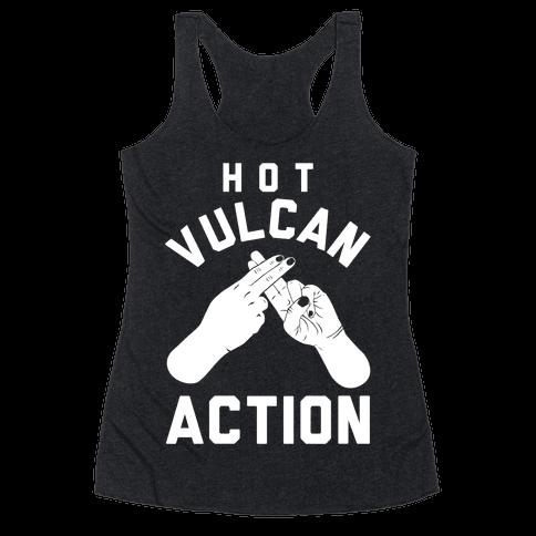 Hot Vulcan Action Racerback Tank Top