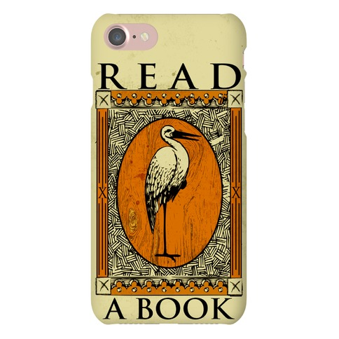 Read A Book Phone Case