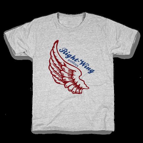 Right-Wing Politics Kids T-Shirt
