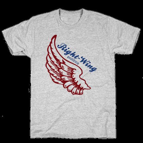 Right-Wing Politics Mens T-Shirt