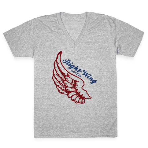 Right-Wing Politics V-Neck Tee Shirt