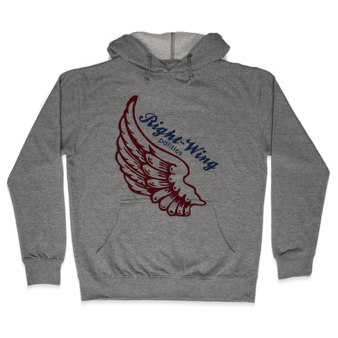 Right-Wing Politics Hooded Sweatshirt