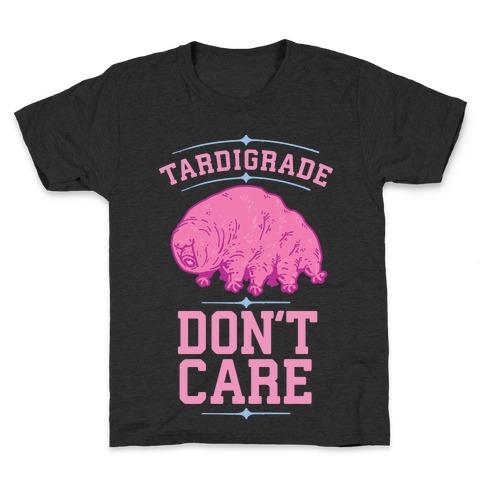 Tardigrade Don't Care Kids T-Shirt
