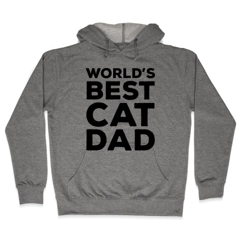 World's Best Cat Dad Hooded Sweatshirt