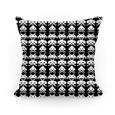 Invader Pillow Pillow