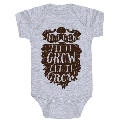 Let It Grow Baby Onesy