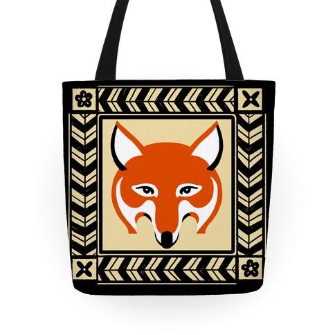 Curious Fox Tote