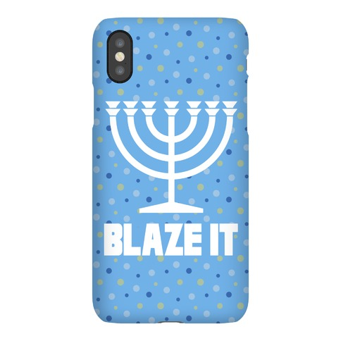 Blaze It Menorah Phone Case
