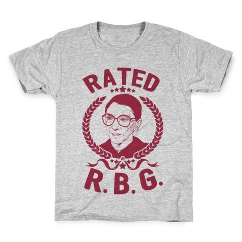 Rated R.B.G. Kids T-Shirt