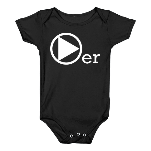 Player Baby Onesy