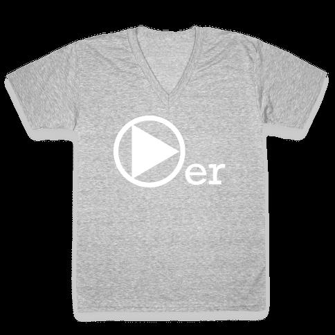 Player V-Neck Tee Shirt
