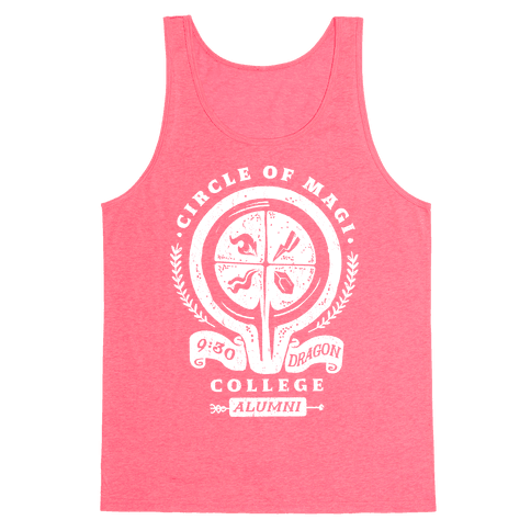 College of Magi Alumni Tank Top
