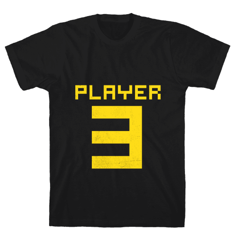 Player 3 Mens T-Shirt