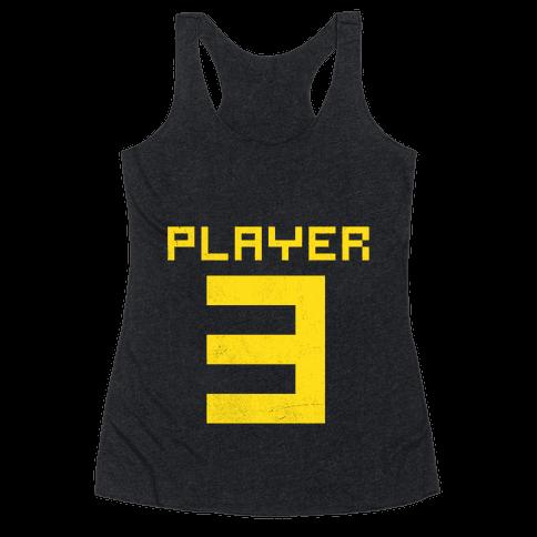 Player 3 Racerback Tank Top