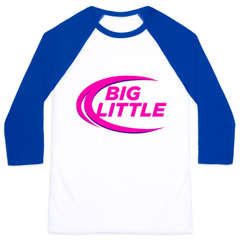 Big Little (Beer Parody Tank) Baseball Tee