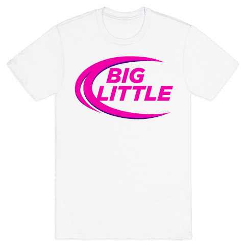 Big Little (Beer Parody Tank) Mens T-Shirt