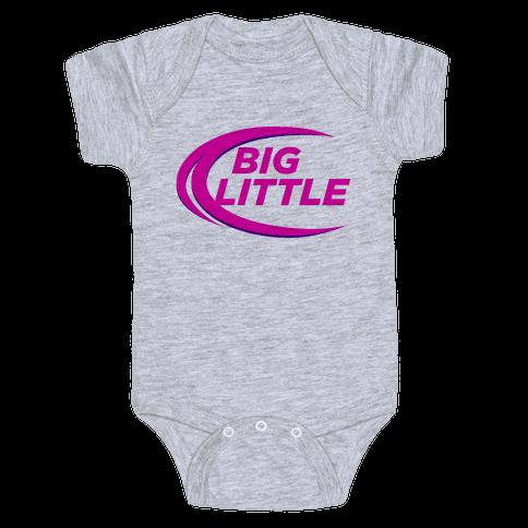 Big Little (Beer Parody Tank) Baby Onesy