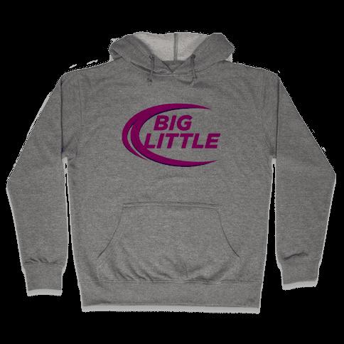 Big Little (Beer Parody Tank) Hooded Sweatshirt