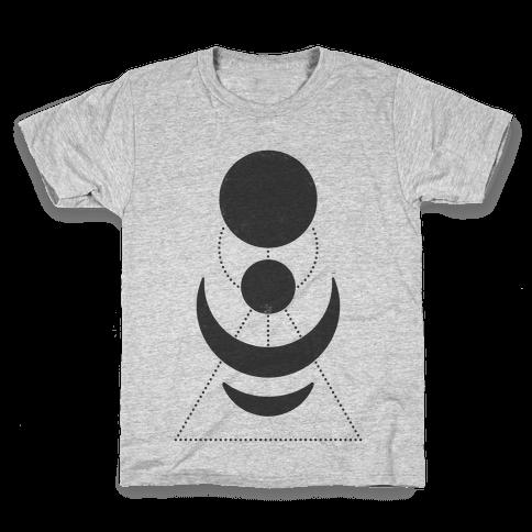 Celestial Shapes Kids T-Shirt