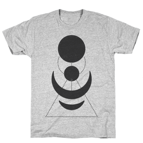 Celestial Shapes Mens T-Shirt
