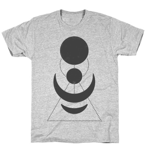 Celestial Shapes Mens T-Shirt