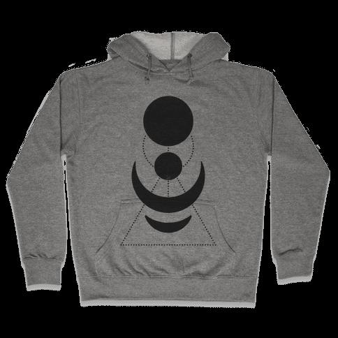 Celestial Shapes Hooded Sweatshirt