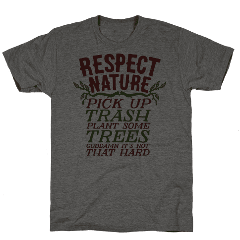 Respect Nature