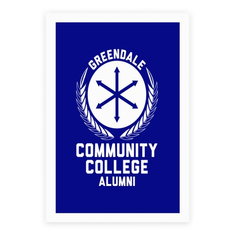 Greendale Community College Alumni Poster