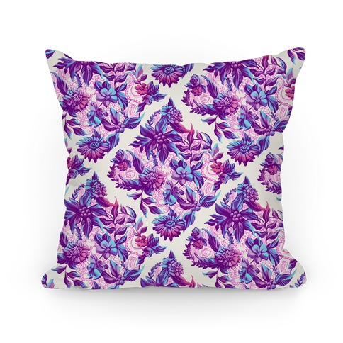 Garden Of Secret Horrors Pillow