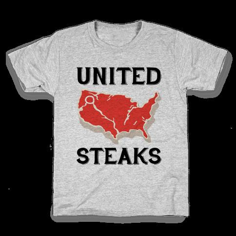 United Steaks Kids T-Shirt