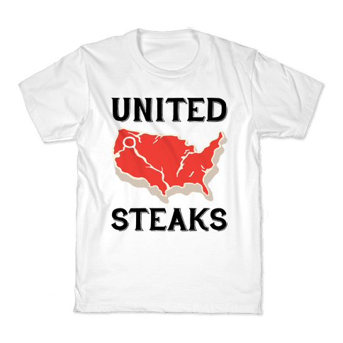 United Steaks Kids T-Shirt
