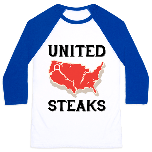 United Steaks Baseball Tee