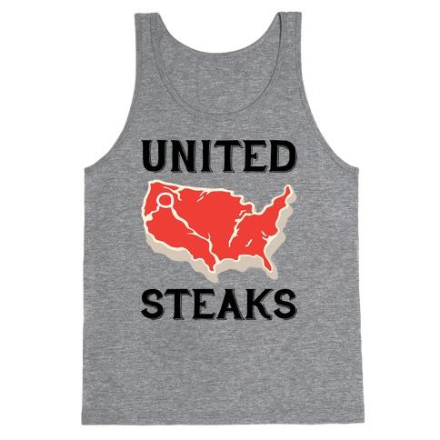 United Steaks Tank Top